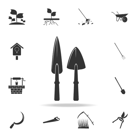 shoulder blades icon. Detailed set of garden tools and agriculture icons. Premium quality graphic design. One of the collection icons for websites, web design, mobile app on white background