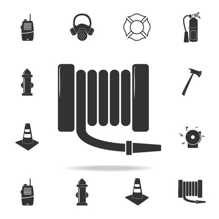 Fire extinguisher icon. Detailed set of Fireman icons. Premium quality graphic design. One of the collection icons for websites, web design, mobile app on white background