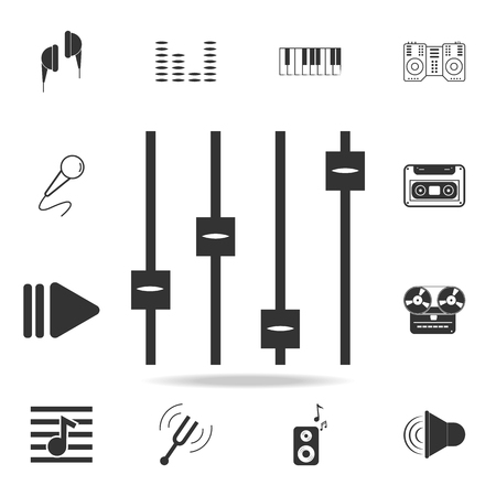 drum icon. Detailed set icons of Music instrument element icons. Premium quality graphic design. One of the collection icons for websites, web design, mobile app on white background Stock Illustratie