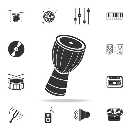 Piano keys icon. Detailed set icons of Music instrument element icons. Premium quality graphic design. One of the collection icons for websites, web design, mobile app on white background
