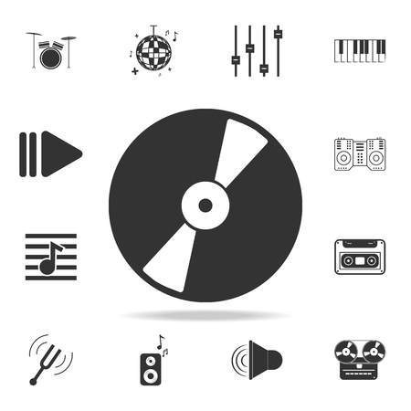 party ball icon. Detailed set icons of Music instrument element icons. Premium quality graphic design. One of the collection icons for websites, web design, mobile app on white background Foto de archivo - 96892776