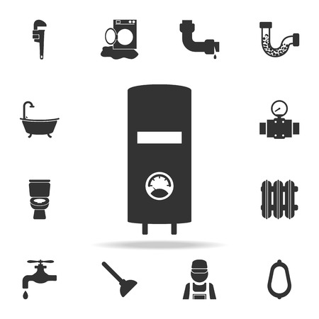 Detailed set of plumber element icons. Premium quality graphic design. One of the collection icons for websites, web design, mobile app on white background