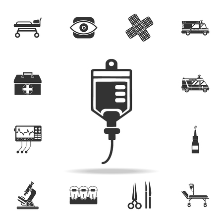 Medicine dropper icon. Detailed set of medicine element Illustration. Premium quality graphic design. One of the collection icons for websites, web design, mobile app on white background.