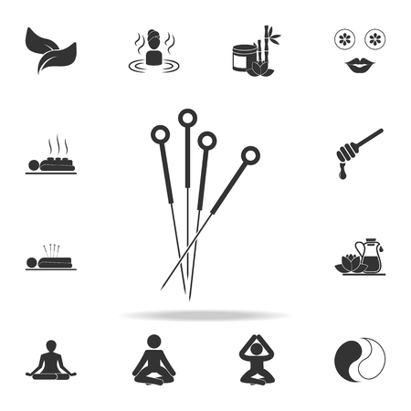 Acupuncture icon. Detailed set of SPA icons. Premium quality graphic design. One of the collection icons for websites, web design, mobile app on white background
