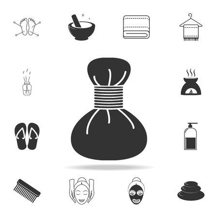 Spa hot compress icon. Detailed set of SPA icons. Premium quality graphic design. One of the collection icons for websites, web design, mobile app on white background
