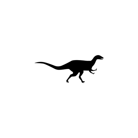 Abelisaurus icon. Elements of dinosaur icon. Premium quality graphic design. Signs and symbol collection icon for websites, web design, mobile app, info graphics on white background