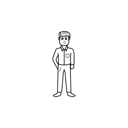 adolescent boyhood icon. Element of generation icon for mobile concept and web apps. Thin line icon for website design and development, app development. Premium icon on white background