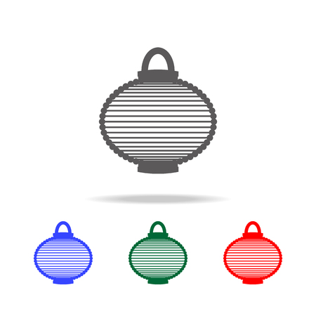 Chinese Lantern icon. Elements of Chinese culture multi colored icons. Premium quality graphic design icon. Simple icon for websites, web design, mobile app, info graphics on white background 向量圖像