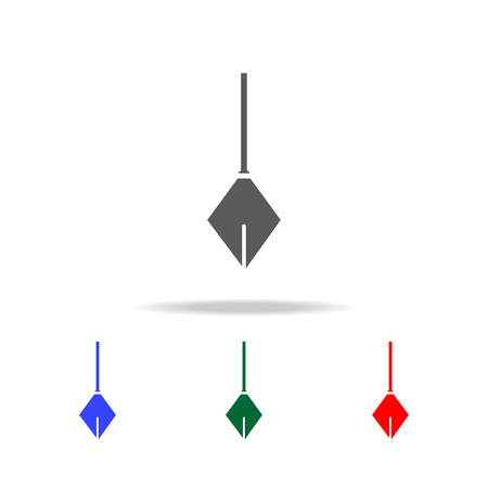 Physical Pendulum icon. Elements of construction tools multi colored icons. Premium quality graphic design icon. Simple icon for websites, web design, mobile app, info graphics on white background Illustration