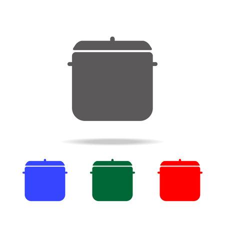 Pot Icon vector illustration set