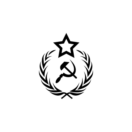 Coat of arms of the USSR icon. Premium quality graphic design icon. Signs and symbols collection icon for websites, web design, mobile app on white background