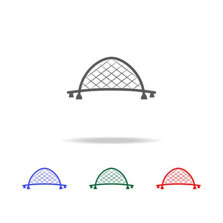 English bridge icon illustration