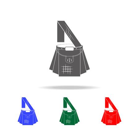 Scottish kilt icon. Elements of United Kingdom multi colored icons. Premium quality graphic design icon. Simple icon for websites, web design, mobile app, info graphics on white background