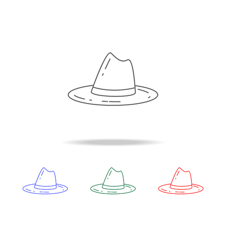scout hat icon.