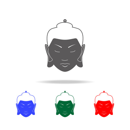 Krishna icon. Elements of Indian culture multi colored icons. Premium quality graphic design icon. Simple icon for websites, web design, mobile app, info graphics on white background