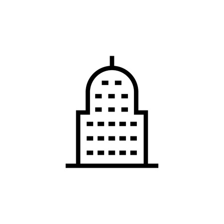 Mosque, Building icon. Element of building icon. Thin line icon for website design and development, app development. Premium icon in paper cut style. Vector illustration Illustration