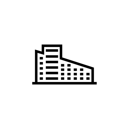 Building icon. Element of building icon. Thin line icon for website design and development, app development. Premium icon
