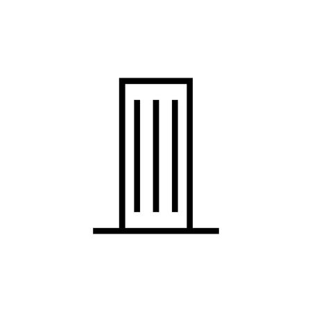 Skyscraper, Building icon. Element of building icon. Thin line icon for website design and development, app development. Premium icon 向量圖像