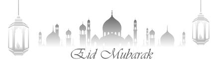 Vector Ramadan Mubarak greeting background 向量圖像