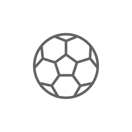 Portugal, soccer ball icon. Element of Portugal icon. Thin line icon for website design and development, app development. Premium icon