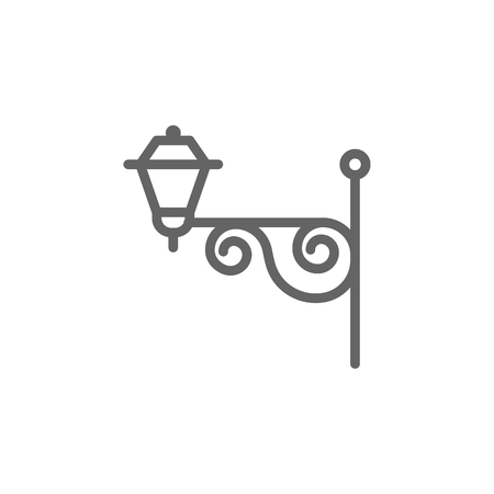 Portugal, street lamp icon. Element of Portugal icon. Thin line icon for website design and development, app development. Premium icon
