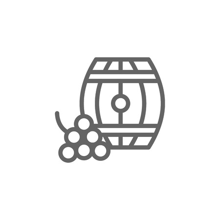 Portugal, barrel icon. Element of Portugal icon. Thin line icon for website design and development, app development. Premium icon