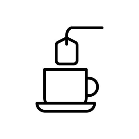 Cup, tea icon. Simple line, outline vector elements of free time icons for ui and ux, website or mobile application