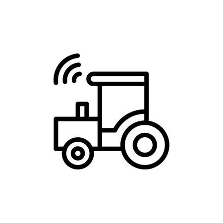 Construction, tractor, farm icon. Simple line, outline vector elements of automated farming icons for ui and ux, website or mobile application