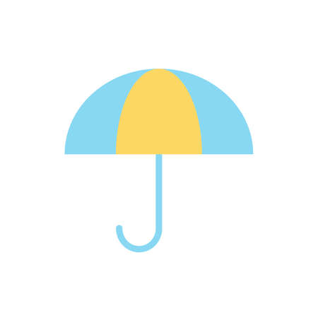 Umbrella, weather icon. Simple color vector elements of forecast icons for ui and ux, website or mobile application Vettoriali