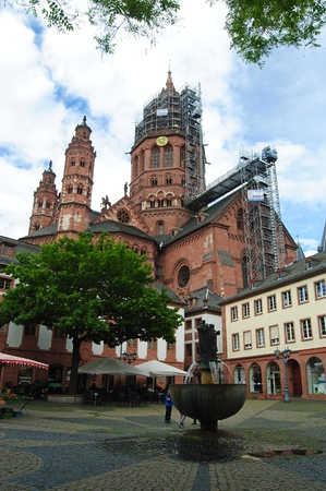 MAINZ: The Dom in Mainz. Editorial