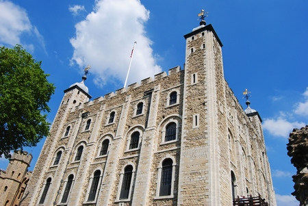 The White Tower at the Tower of London Editorial