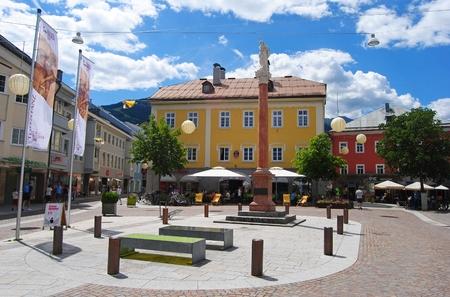 Lienz city center.
