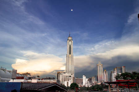 tallest: tallest tower in thailand Stock Photo