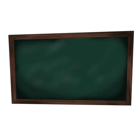 distort: School Blackboard with Distorted Shape