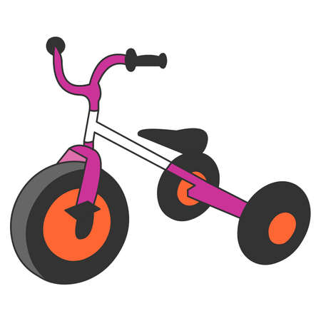 training wheels: Pink Bicycle with Training Wheels