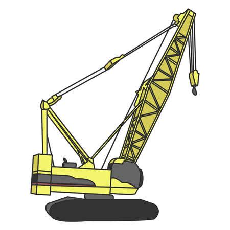 heavy construction: Crane