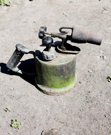 blowtorch: Blowtorch. Photo. Stock Photo