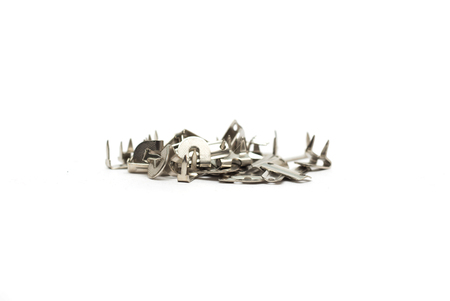 rivets: Metal rivets. Sewing accessories. Photo.