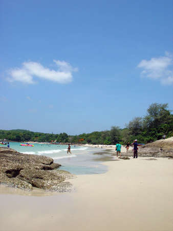 koh samet: Beach on Koh Samet in Thailand