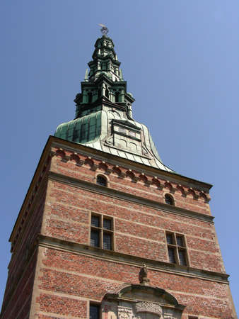 One of Frederiksborg Castle towers          photo