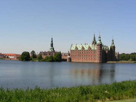 Frederiksborg Castle one of the most beautiful castle in Denmark  photo