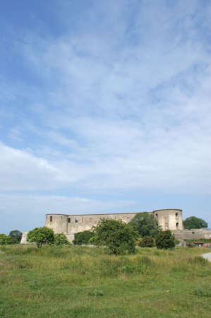 oland: The ruin of Borgholm Castle from the 12th century on Oland