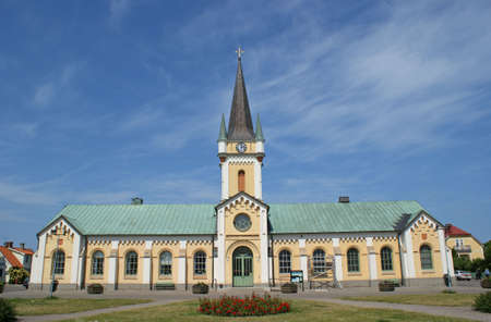 oland: The church in Borgholm on the island Oland in Sweden