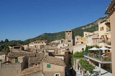 The small idyllic town of Estellencs in the Tramuntana mountains on Mallorca photo