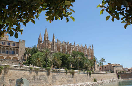 The Cathedral La Seu in Palma de Mallorca photo
