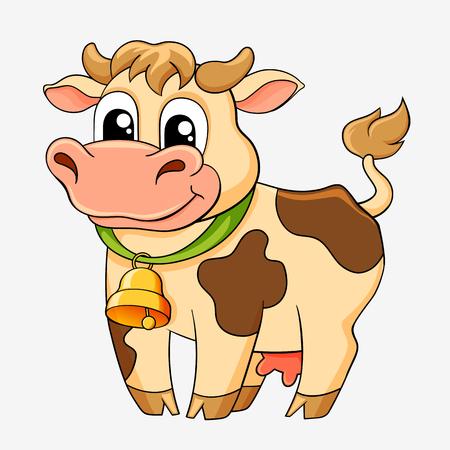 Krowa śmieszne kreskówki