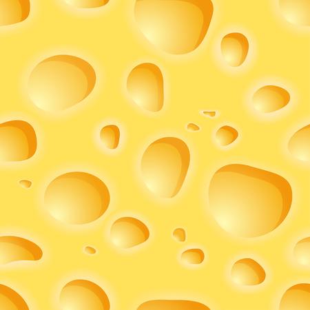 edam: Cheese seamless pattern. Vector background Illustration