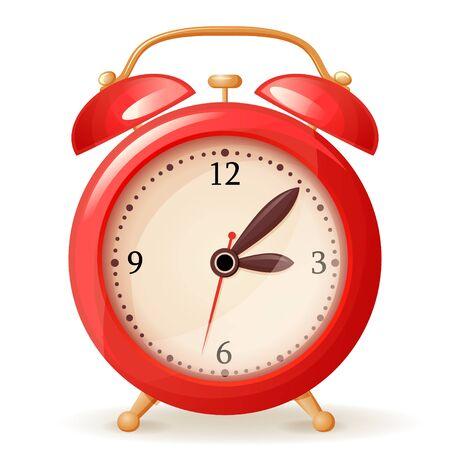 arrow circles: Alarm clock icon Illustration