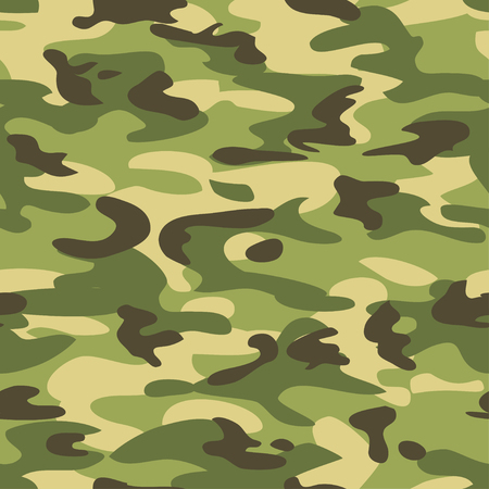 Camouflage seamless pattern. Military style