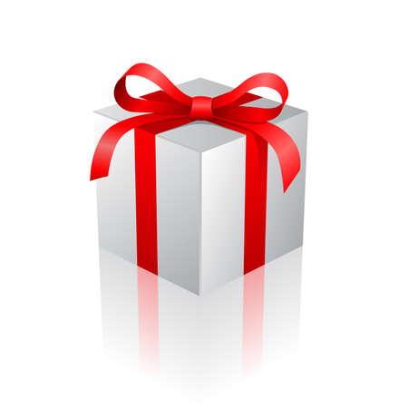 Vector illustration of a gift box Иллюстрация